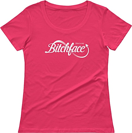 Bitchface tshirt for the mean girl