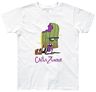 Kactus Zombie Designer tshirt for children