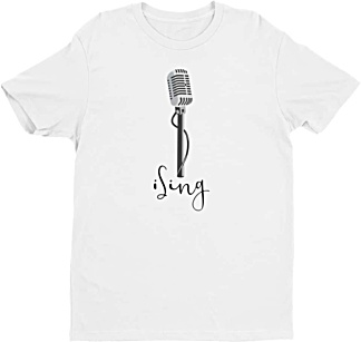 Lead Singer tshirt - Music Tshirt - men's tee