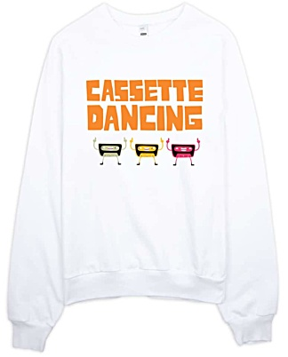Casette Dancing Retro Sweatshirt