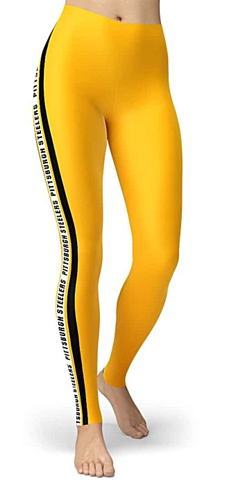 NFL Football Pittsburgh Steelers Game Day Tailgating Leggings