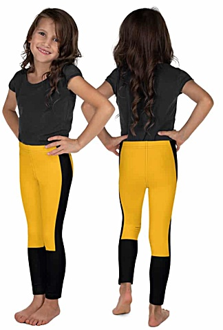 Pittsburgh Steeler Kids Leggings - Pittsburgh Penguin Kids Leggings - Pittsburgh Pirate Kids Leggings