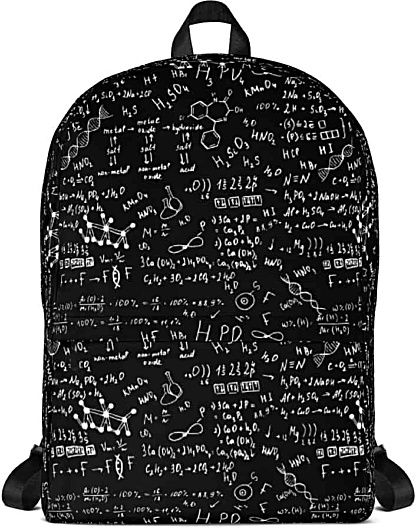 Scientific Science Chemical Formula Backpack