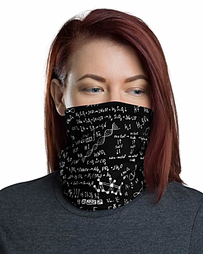 Science Chemical Face Mask Neck Gaiter