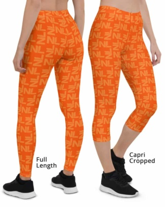 Dutch Holland / Netherlands Orange Leggings Kings Day World Cup Football Pants