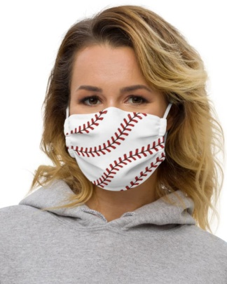 Baseball stitches Protective Face Mask anti virus coronavirus virus rona covid19