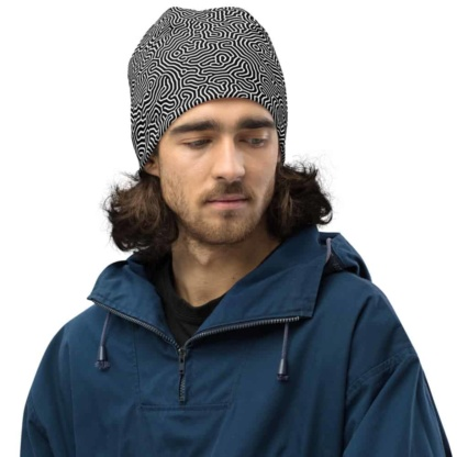 Biological Abstract Beanie Hat