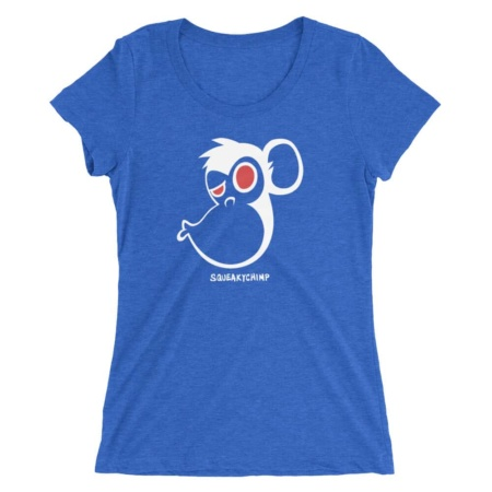Monkey Kiss T-shirt / Women Short Sleeve Top