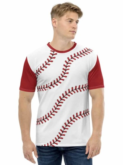 Baseball T-shirt / Men's Short Sleeve Top